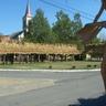 Az elkészült csuta-házak